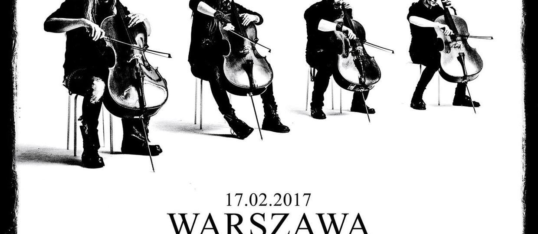 Apocalyptica na 2 koncertach w Polsce w 2017 roku
