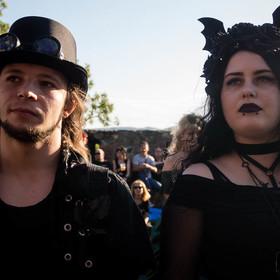 gotycka stylizacja na Castle Party 2018