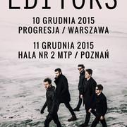 Editors na dwóch koncertach w Polsce - Warszawa wyprzedana