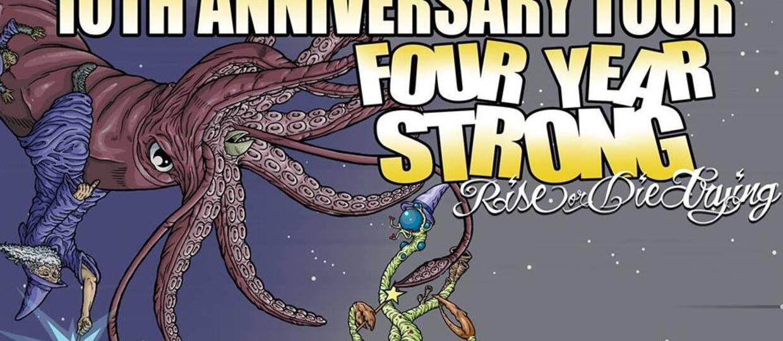 Four Year Strong i CF98 na dwóch koncertach w Polsce