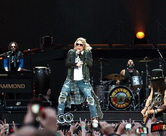 Guns N' Roses w Gdańsku [GALERIA]