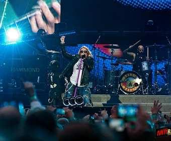 Guns N' Roses zagra koncert w Polsce w 2018