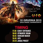 Judas Priest w Ergo Arenie - bilety, godziny, dojazd [INFORMATOR]