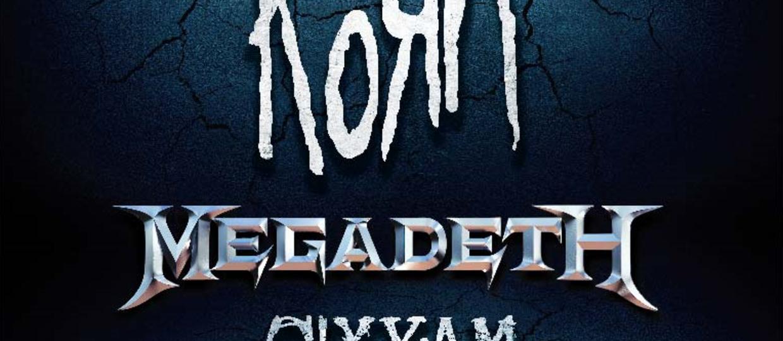 Korn, Megadeth i Sixx:A.M. zagrają na Power Festival w Łodzi