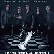 Kto będzie supportował Europe w Warszawie?