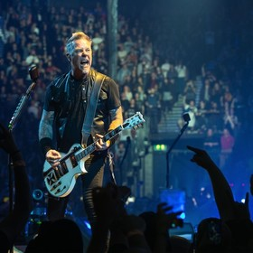 James Hetfield z grupy Metallica