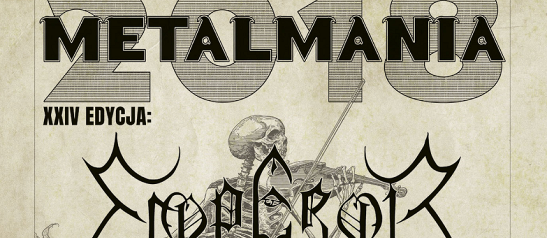 Metalmania 2018: plakat