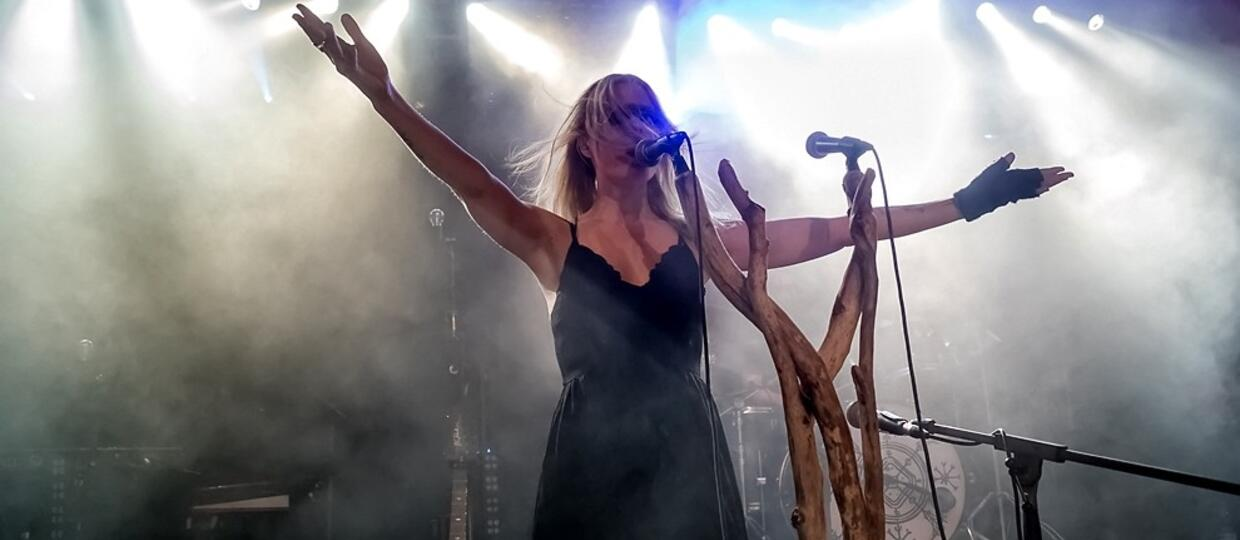 Myrkur na Castle Party