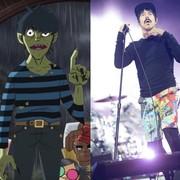 Obejrzyj koncerty Gorillaz i Red Hot Chilli Peppers za darmo w internecie