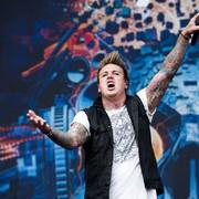 Wokalista grupy Papa Roach