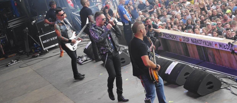 Pol and rock festival harmonogram