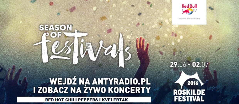 Red Hot Chili Peppers i Kvelertak na Roskilde [TRANSMISJA NA ŻYWO]