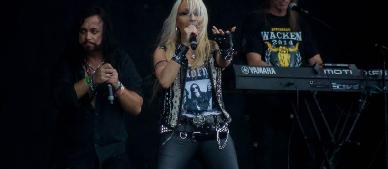 Skyline i Doro Pesch na Wacken Open Air 2017 [GALERIA]