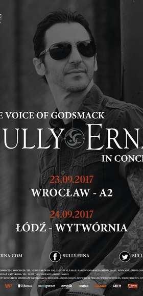 Sully Erna z Godsmack zagra dwa koncerty w 2017