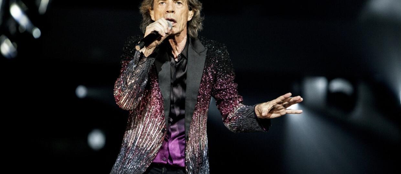 The Rolling Stones na koncercie - Mick Jagger