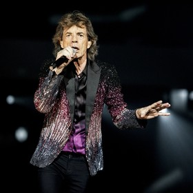 The Rolling Stones na koncercie - Mick Jagger