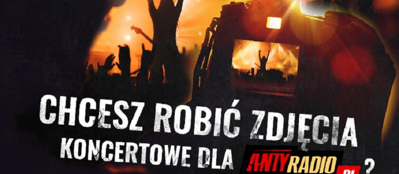 Zostań fotografem koncertowym w Antyradio.pl!