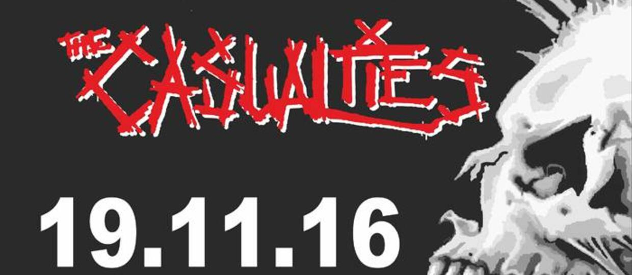 Wygraj bilet na koncert The Exploited, GBH i The Casualties