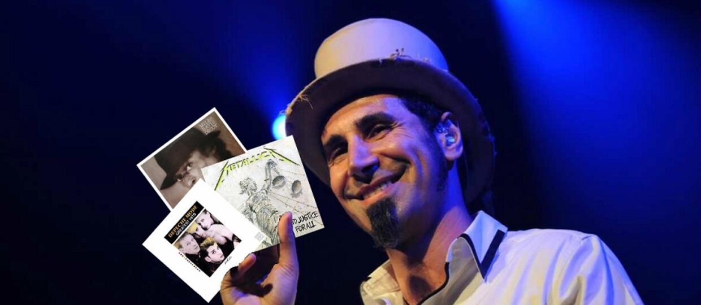 10 albumów, które odmieniły życie Serja Tankiana