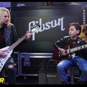 11-letni gitarzysta zagrał z muzykiem Judas Priest
