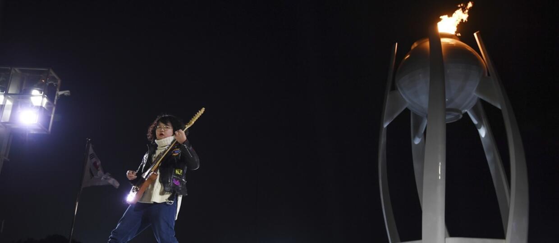 13-letni gitarzysta zachwycił publiczność na ceremonii zamknięcia Igrzysk Olimpijskich w Pjongczang 2018