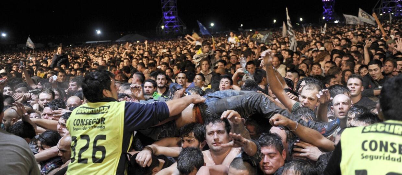 2 osoby zginęły na rockowym koncercie w Argentynie