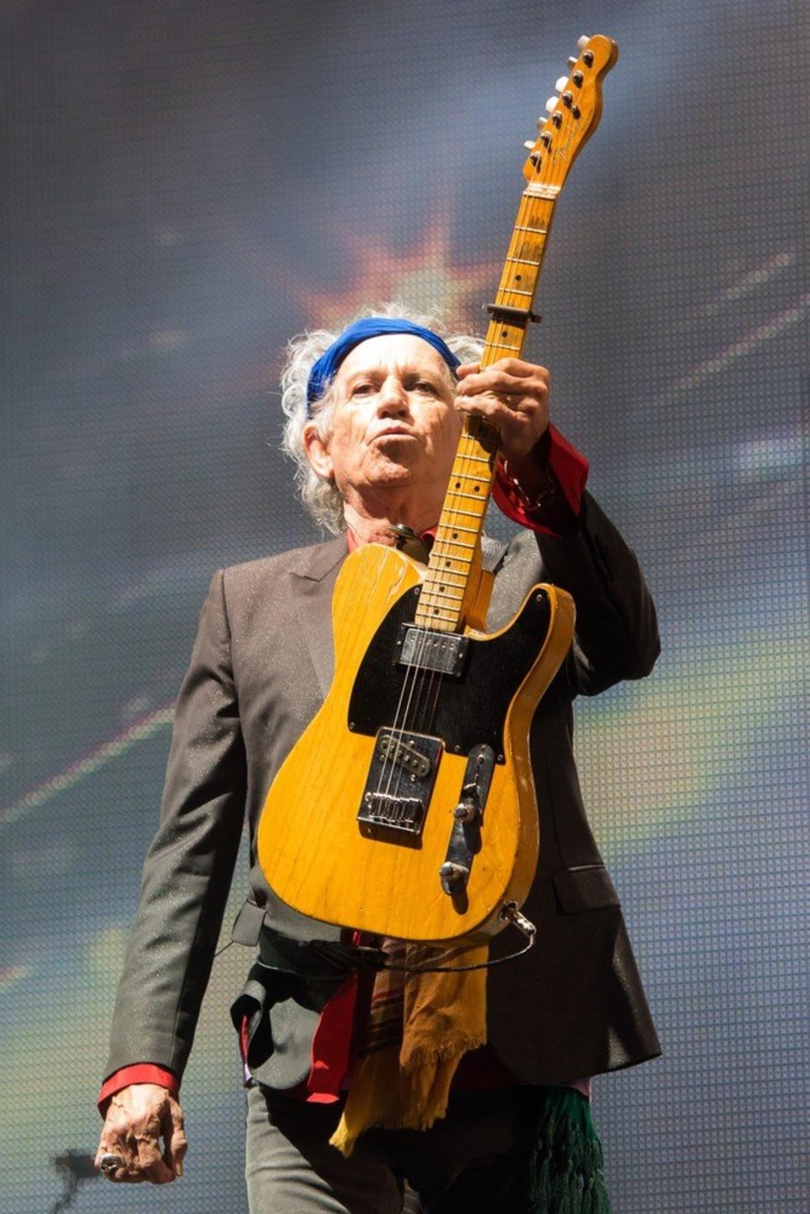 73 lata temu urodził się Keith Richards