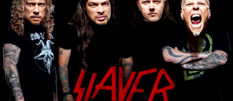 """A gdyby Slayer nagrał utwór """"Spit Out The Bone"""" Metalliki?"""