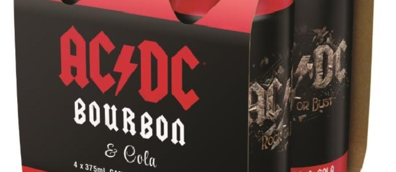 AC/DC prezentuje bourbon z colą Rock or Bust