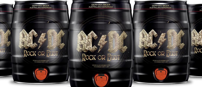 AC/DC wypuści limitowaną edycję piwa Rock Or Bust