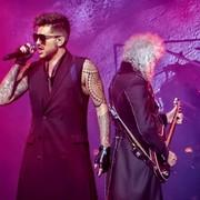 Adam Lambert z grupą Queen