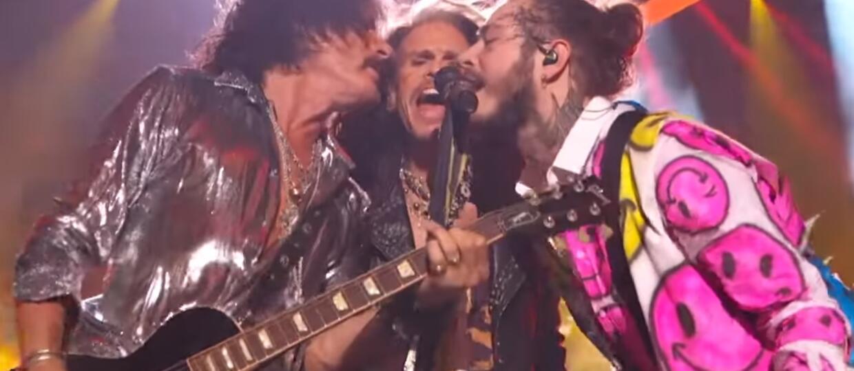 Aerosmith zagrał z Post Malone na gali MTV Video Music Awards