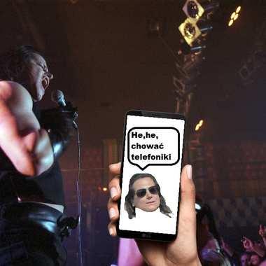 Albo schowasz telefon, albo nie wchodzisz na koncert Misfits. Danzig zakazał używania smartfonów