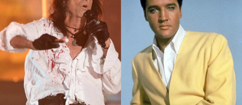 Alice Cooper o tym, jak prawie zastrzelił Elvisa Presleya