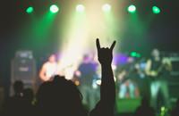 Metalowy koncert