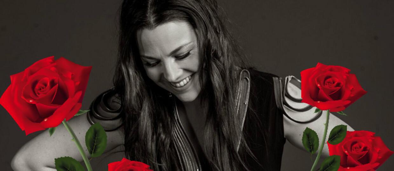 Amy Lee zostanie obsypana różami podczas koncertu Evanescence w Polsce