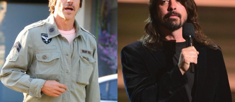 Anthony Kiedis nie chciałby współpracować z Dave'em Grohlem