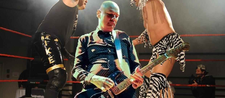 Billy Corgan gra dla wrestlerów