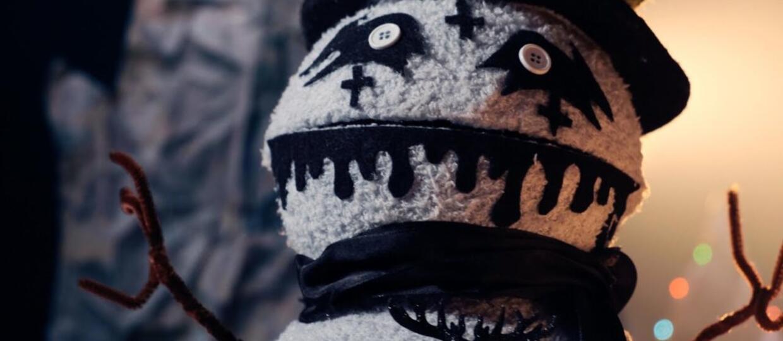 Blackmetalowa skarpetka