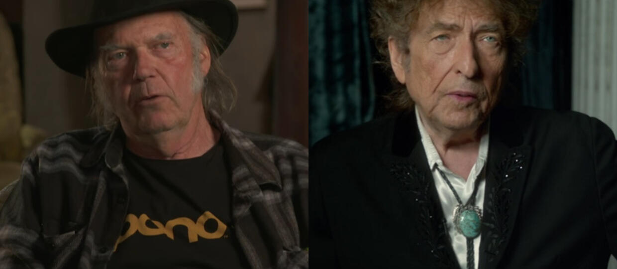 Bob Dylan Neil Young