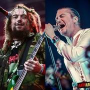 """Bracia Cavalera i Mike Patton na jednej scenie w numerze z płyty """"Roots"""""""