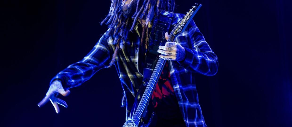 Brian Head Welch z Korn