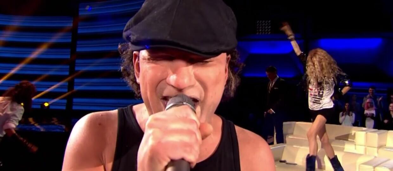 """Brian Johnson z AC/DC wygrał odcinek programu """"Twoja twarz brzmi znajomo"""""""