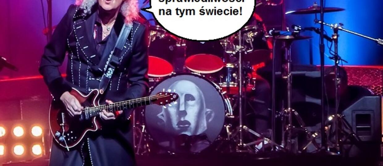 Brian May z Queen dostał bana na Instagramie