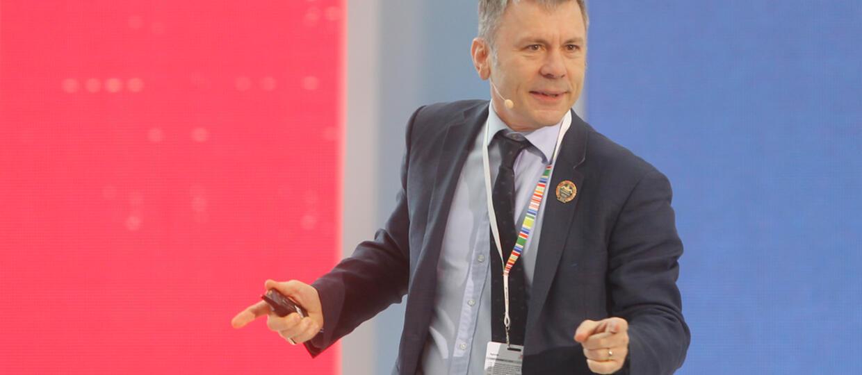 Bruce Dickinson opowiedział o biznesie na kongresie w Rzeszowie