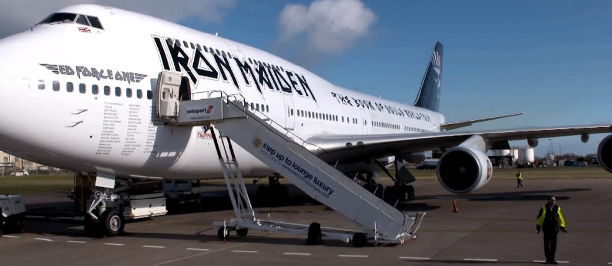 Ed Force One Iron Maiden