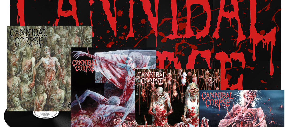 Cannibal Corpse wznowiony na winylach