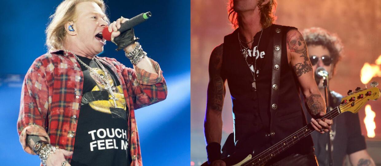 Co Duff McKagan sądzi o Axlu w AC/DC?