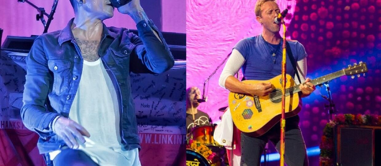 """Coldplay zagrał """"Crawling"""" Linkin Park w hołdzie Chesterowi Benningtonowi"""