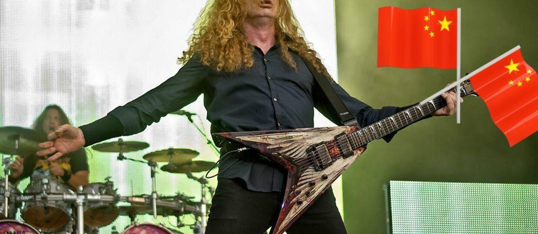 Czego zabroniono zagrać Megadeth w Chinach?
